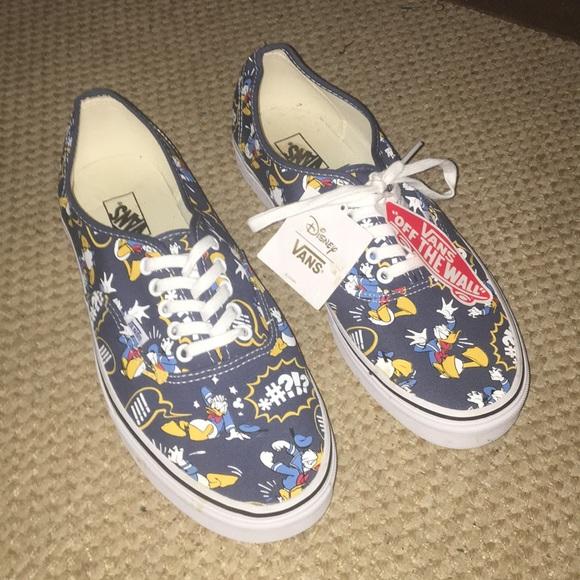 3d7270b7ea Vans Disney Edition Donald Duck Shoes